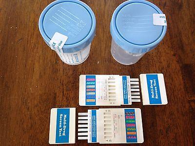 2 pack of 12 Panel Multi-Drug Screen Test w/ 2 free specimen cups