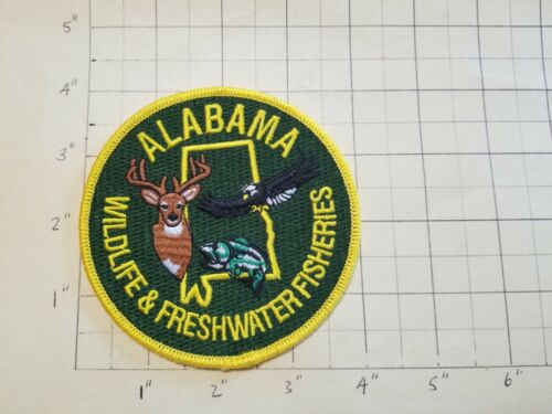 ALABAMA Wildlife & Freshwater Fisheries Patch      ***NEW***