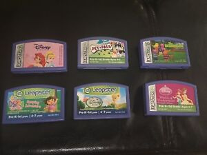 6 Leapster games $10