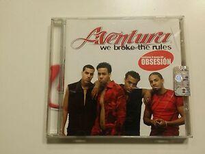 Aventura – We Broke The Rules - Planet Records PLT057CD - 2002 - Italia - L'oggetto può essere restituito - Italia