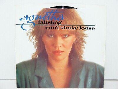 Vtg Agnetha Faltskog DJ Promo 45rpm Picture Sleeve Record Can't Shake Loose ABBA