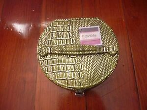 Cara Mia Small Green Leather Jewellery Case Kallangur Pine Rivers Area Preview
