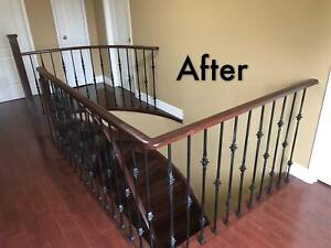 Home Building Supplies: Stairs, Iron railings