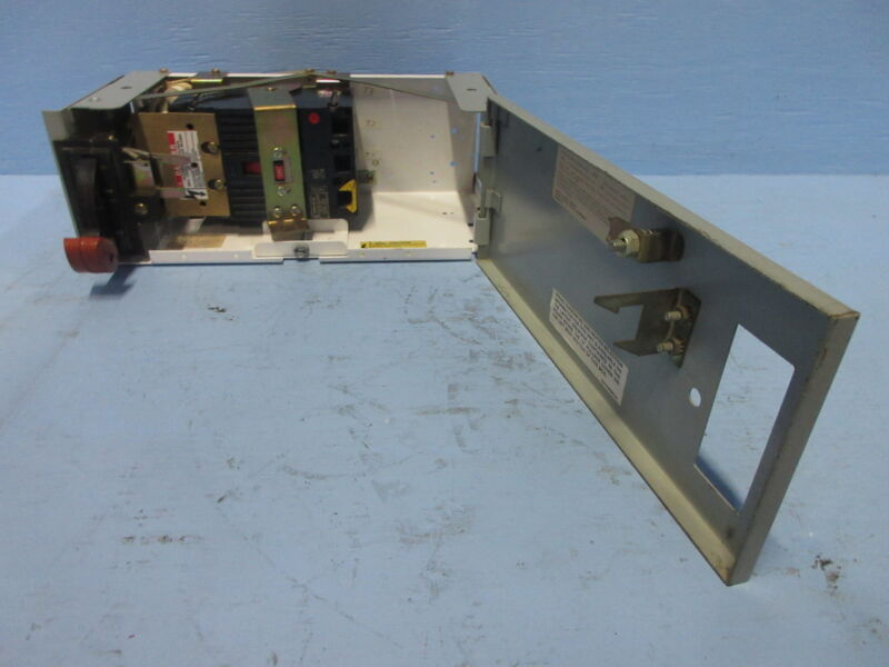 """General Electric GE 8000 100 Amp Breaker Type 6"""" MCC Feeder Bucket 100A THED"""