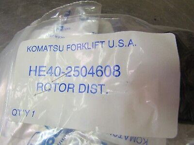 New Genuine Komatsu He40-2504608 Rotor Continental Waukesha Engines
