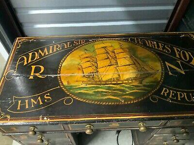 Unique Vintage Nautical Desk