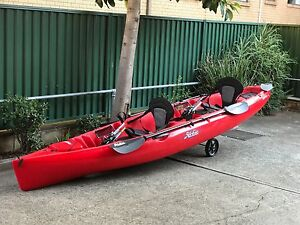 2013 Hobie Mirage Oasis Tandem Kayak Liverpool Liverpool Area Preview
