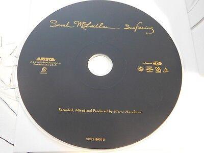 Surfacing By Sarah Mclachlan  Cd  Jul 1997  Arista Disc Only 41 20