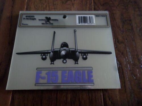 U.S MILITARY AIR FORCE F-15 EAGLE PLANE WINDOW DECAL BUMPER STICKER