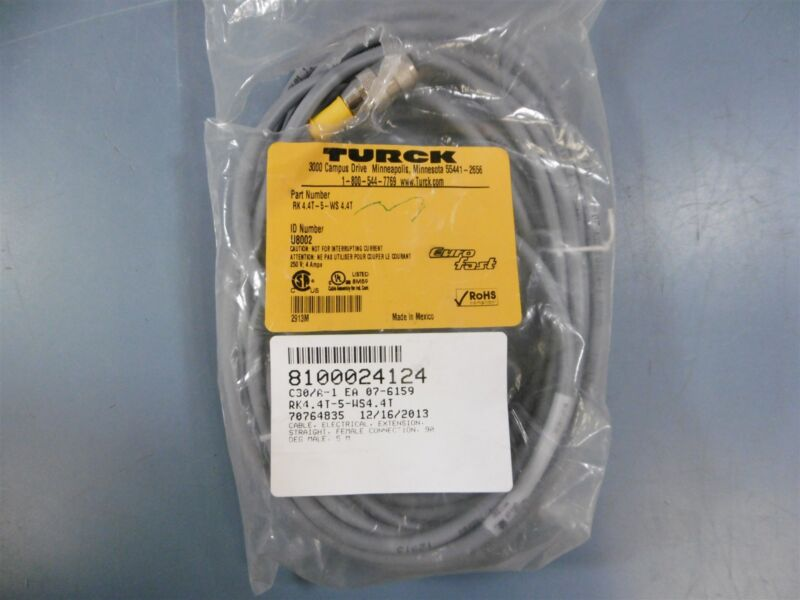 Turck Eurofast RK 4.4T-5-WS 4.4T Electrical Cable