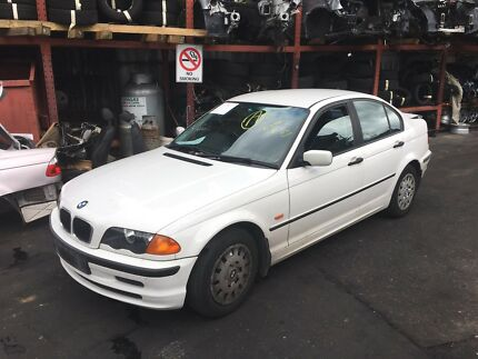 Bmw e46 3 series 318i automatic sedan white wrecking Northmead Parramatta Area Preview