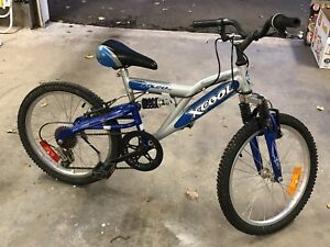 6-speed Kids Mountain Bike. With Suspension