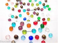20 Perle Oliva Cristallo Sfaccettate Misura 6mm O 8mm Mix Vari Colori -  - ebay.it