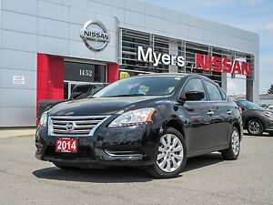 2014 Nissan Sentra Manual, eco and sport mode