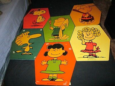Peanuts Charlie Brown Snoopy Interstate Brands Hostess Promo Display Signs Bread