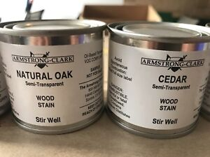 Armstrong Clark Paint Stain Samples