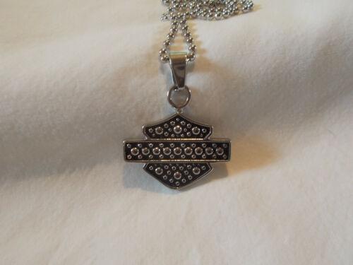 Harley Davidson  Bar & Shield Pendant Necklace