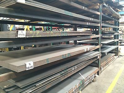 14 .250 Hro Steel Sheet Plate 12 X 24 Flat Bar A36