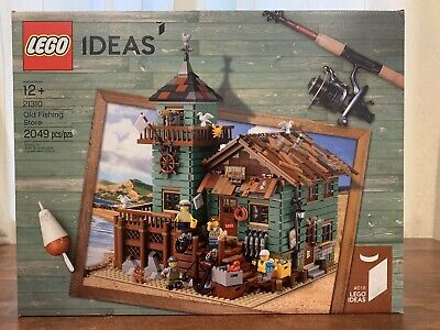 Lego Ideas 21310 Old Fishing Store Brand New Sealed Complete Building Set
