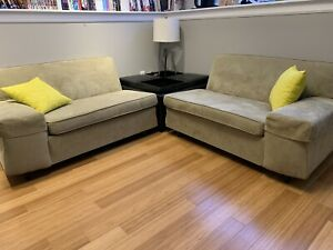 2 piece sectional w/ ottoman - straight or corner configuration