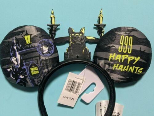 Disney Parks Haunted Mansion 999 Happy Haunts Ears w Gargoyle Headband New 2021
