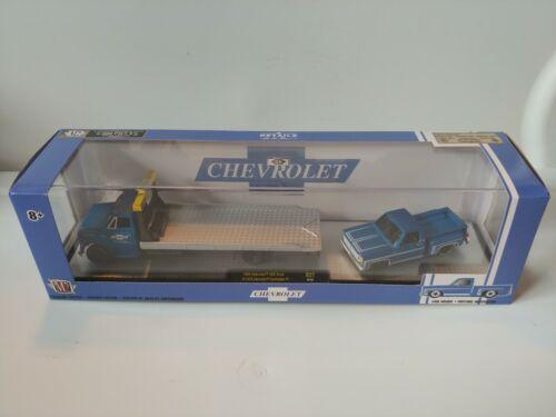 M2 Auto-Haulers SquareBody Chevy C60 & 1976 Chevy Scottsdale 1:64 scale. 1-6
