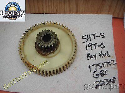 GBC 2230S 1751702 Shredder Large Drive Gear 54/19 Teeth 1751702-LG