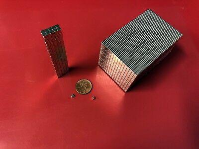500 - Small Strong Neodymium Mini Fridge Magnets Rare Earth New Craft