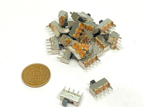 25 Pieces Slide Switch SS-12F44G3 3Pin 2 Position SPDT on/off on off  B29