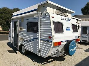 2001 Galaxy Southern Cross Poptop - Rollout Awning - Single Beds Warragul Baw Baw Area Preview