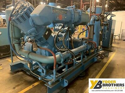 200 Hp Nei Belliss Morcom Air Compressor With Hankinson Air Dryer System Ybm