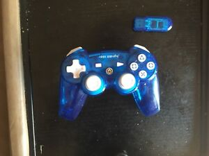 Blue controller for PS3 rock candy