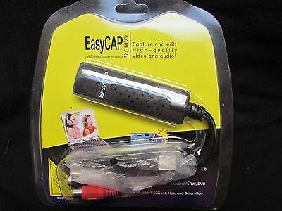 Easycap USB 2.0 Video TV DVD VHS Audio Capture Adapter for Desktop Laptop DC60