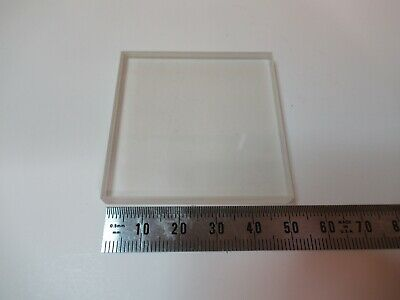 Optical Flat Glass Square Diffuser Dull Polish Sides Optics As Pictured 14-b-48