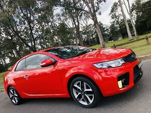 2010 Kia Cerato Koup Low Kms Full Service History Long Rego Red Moorebank Liverpool Area Preview