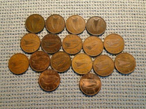 IRELAND 17 PENNY COINS
