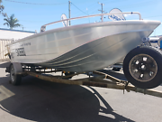 2001 435 HORNET TROPHY BOAT TINNY FISHING TRAILER PACKAGE  Capalaba Brisbane South East Preview
