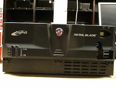 DigiPOS Retail Blade POS Computer Celeron 2,5Ghz 2GB NO HDD P-USB 24V 12V + PSU