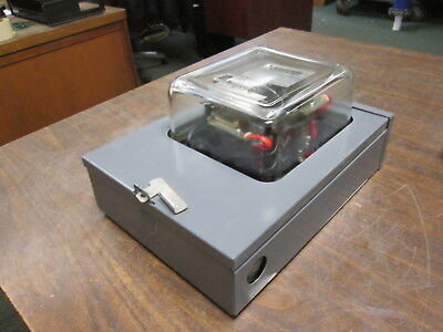 Osaki Watthour Meter 0091ht 120208y 3ph 4w 60hz Used