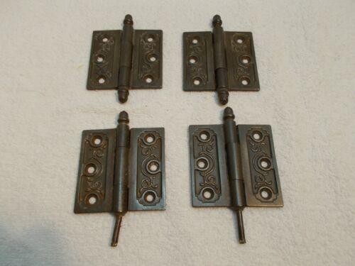4 Clark & Co. Cast Iron Door Hinges 3 x 3