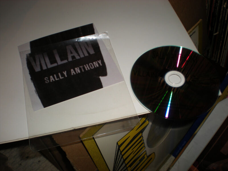 Sally Anthony Villain CD SINGLE one track