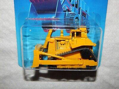Hot Wheels CAT Bulldozer - Workhorses Card - 1986 - New