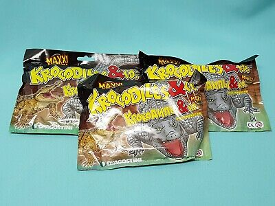 DeAgostini Krocodiles & Co. Maxxi Edition 3 x Booster / Figur Krokodile