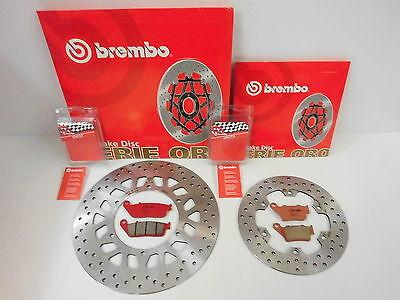 Brembo Bremsscheibe Bremse vorne + hinten + Sinter Bremsbeläge Yamaha WR 125 X