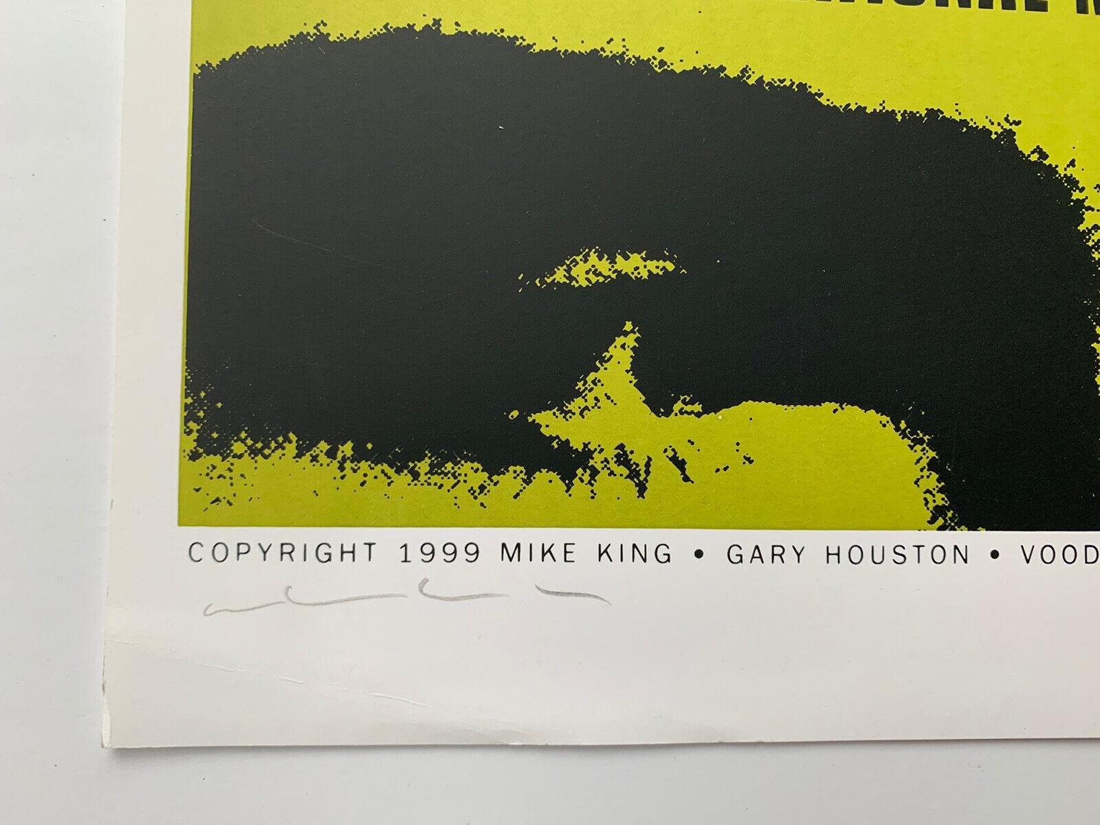 1999 Flaming Lips Sebadoh Mike King Signed Poster 18 X 26 73/130 Gary Houston - $198.00