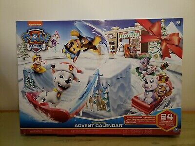 Paw Patrol Advent Calendar Christmas 24 Exclusive Gifts - New In Box