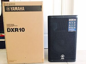 "Brand New: Yamaha DXR10 10"" PA Powered Speaker Manly Brisbane South East Preview"