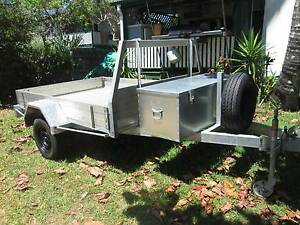 TRAILER HEAVY DUTY 8' x 6' GALVANISED STEEL and ALUMINIUM Caboolture Caboolture Area Preview