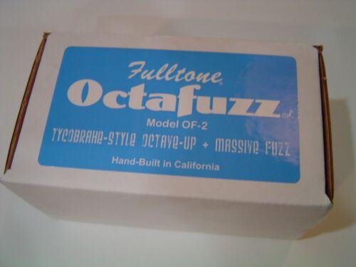 Fulltone Octafuzz OF-2 Fuzz Pedal Tycobrahe Octavia