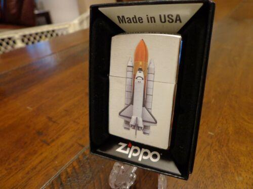 SPACE SHUTTLE NASA LAUNCH ZIPPO LIGHTER MINT IN BOX